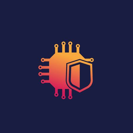 cryptography and encryption icon Stock Illustratie