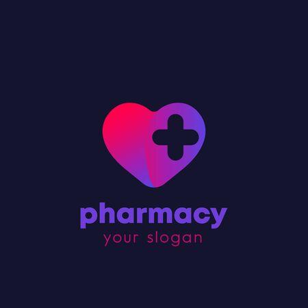 pharmacy logo, vector Illustration