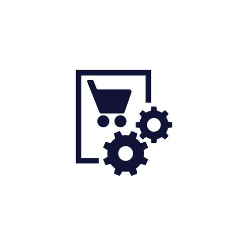 order, purchase processing icon