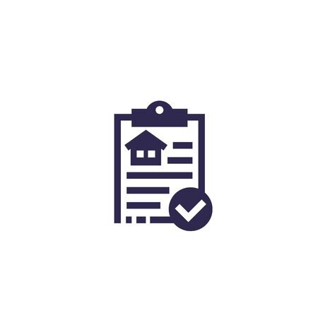 house insurance document icon