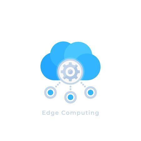 Edge-Computing-Vektorsymbol