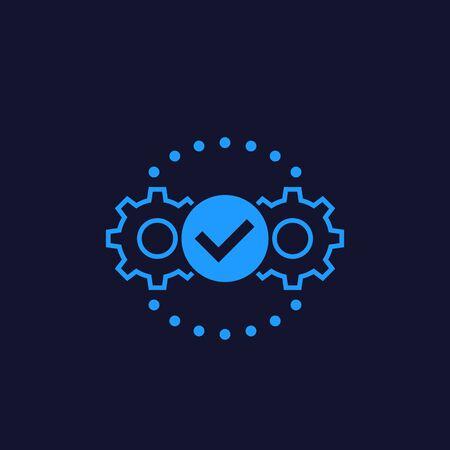 Execution vector icon