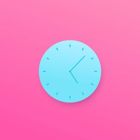 Time, watch vector design