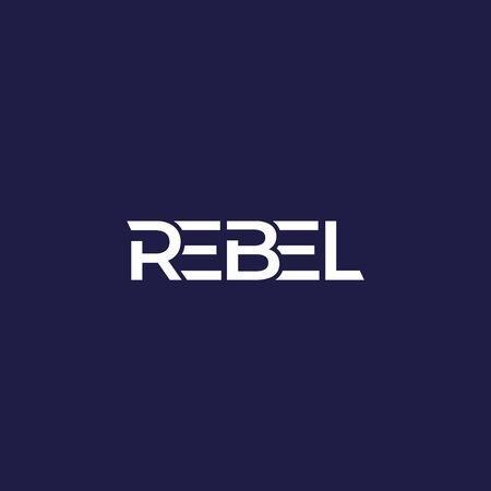 Rebel logo design