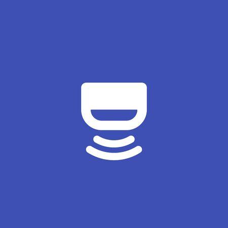Sensor, detector vector icon