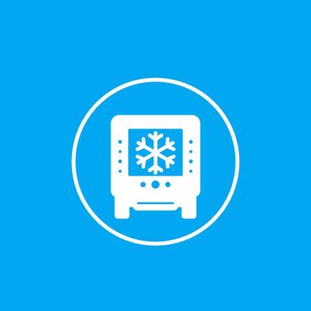 industrial fridge icon