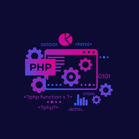Programmation et codage PHP, vecteur Vecteurs