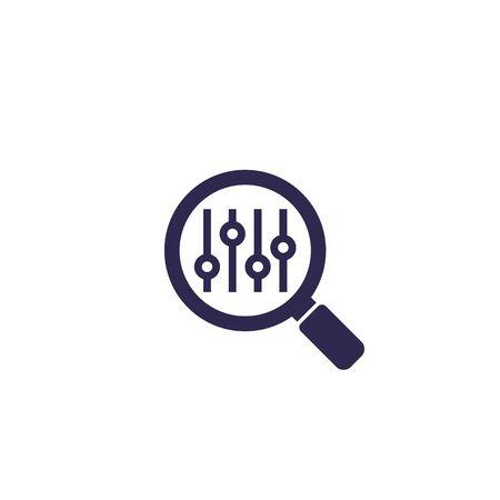 search optimization vector icon