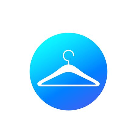 hanger icon, vector Illustration