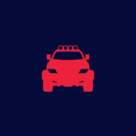 off-road 4x4 suv icon