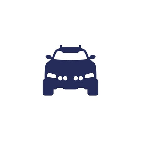 off road car, suv icon