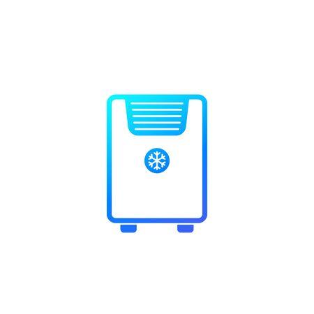 air conditioner, mobile ac icon