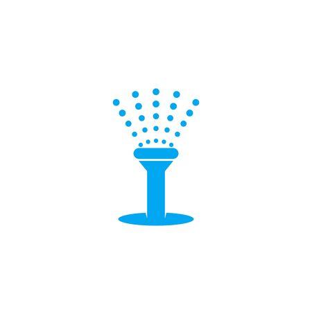 water sprinkler icon, vector design Ilustração