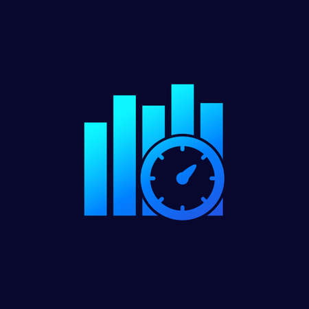 performance indicator icon for web