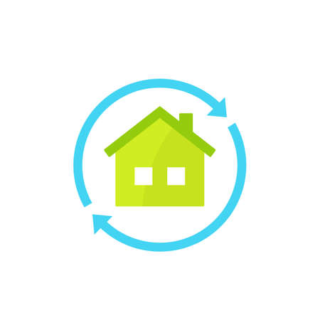 home rent vector icon on white