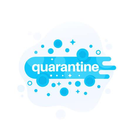 quarantine vector design for web