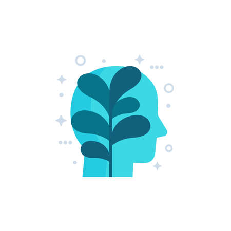 personal growth icon, vector art Vector Illustration
