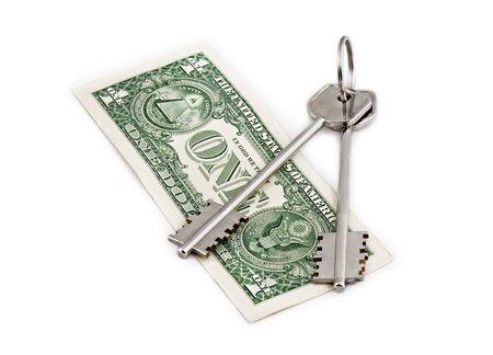money key bond Stock Photo - 5866067