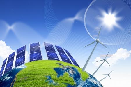 Meistens werden die Sonnenkollektor am Dach fixiert