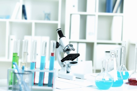 medical study: Picture of medical and scientific equipment; in laboratory