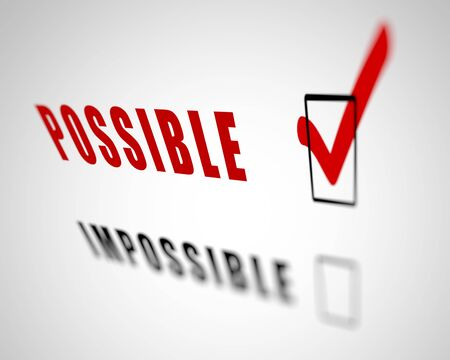 responce: Image with a word choice symbolizing success