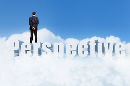 Image of confident business preson with awaiting career growth Stock Photo - 15908930