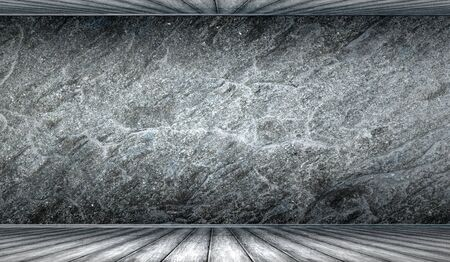 granite floor: Texture of old rock wall for background Stock Photo