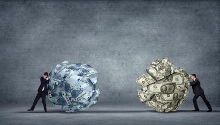 dinero euros: Imagen generada por ordenador - renta de las sociedades y las cuestiones financila