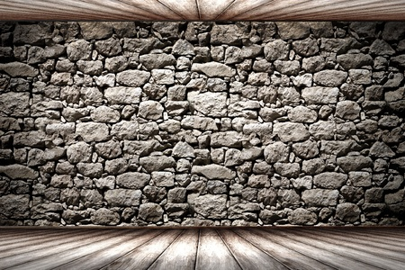 Texture of old rock wall for background photo