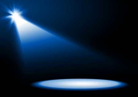 spot light: colorful and vivid stage spotlight on stage background