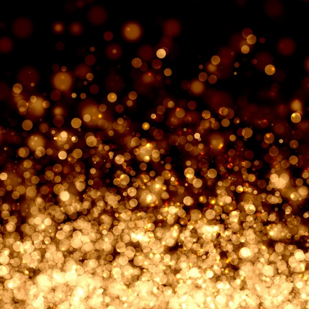 gold: Gold colour bokeh abstract light background  Illustration