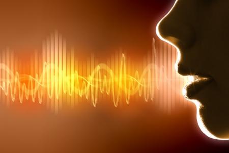 Equalizer Schallwellen Hintergrund Thema Farbe Abbildung