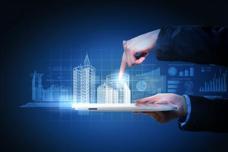 Domotica diseño de construcción industria de la tecnología