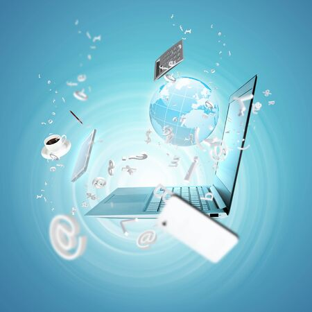 internet speed: Best Internet Concept of global business from concepts series