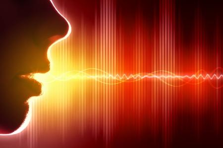 Equalizer sound wave background theme  Colour illustration Imagens - 16620968