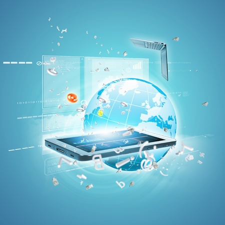 Best Internet Concept of global business from concepts series Stock Photo - 16866447