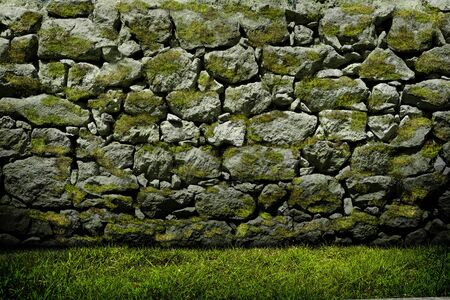 Texture of old rock wall for background Stock Photo - 16867349