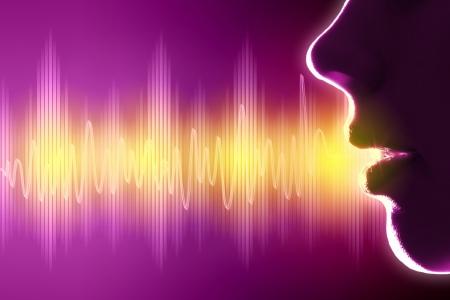 Equalizer sound wave background theme  Colour illustration Stock Illustration - 16951299