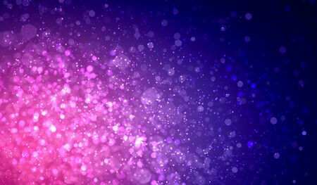 Purple colour bokeh abstract light background  Illustration Stock Illustration - 16982186