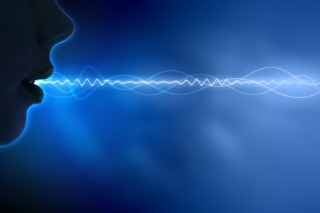 Equalizer sound wave background theme  Colour illustration  illustration