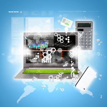 Best Internet Concept of global business from concepts series Stock Photo - 17022730
