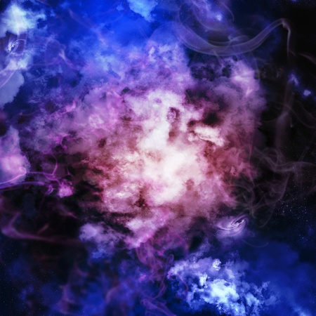 Cosmic clouds of mist on bright colorful backgrounds Stock Photo - 18472118