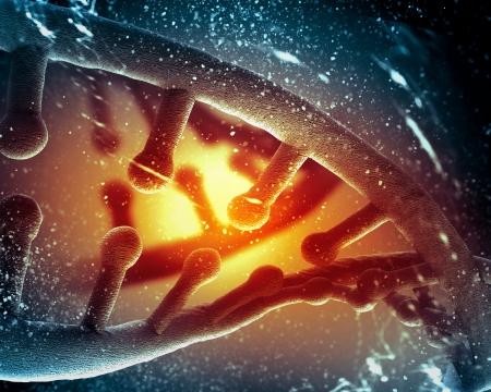 tallo: Mol�cula de ADN que se encuentra en frente de un fondo de color abstracto collage