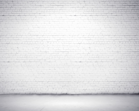 brick background: Blank wall made of bricks  Place for text