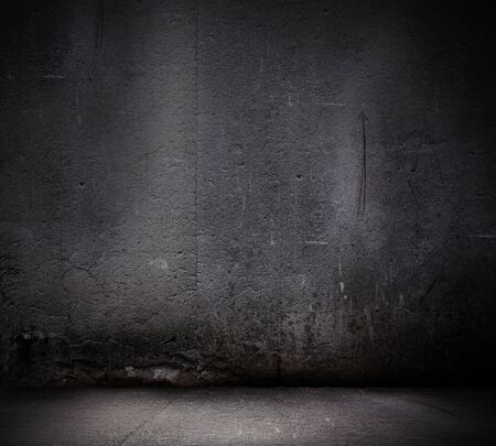 canvas on wall: Black wall textured empty design  Background image