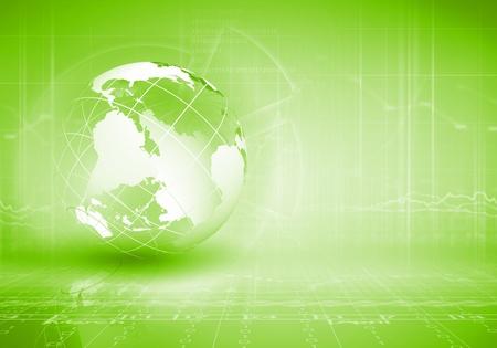 green earth: Blue digital image of globe  Background image
