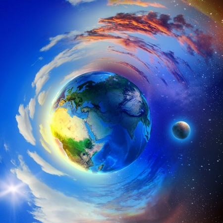 Image of earth planet photo