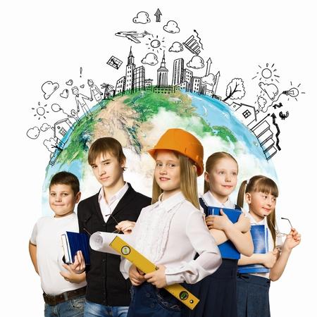 professions: ni�os en edad escolar Elegir elementos profesi�n