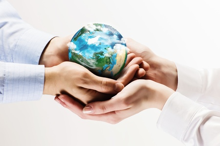 Let s save our planet earth  Ecology concept