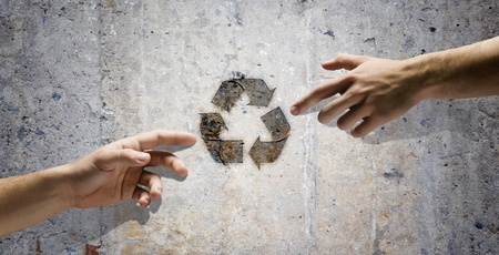 Human interaction to protect our planet  Ecology and environment Stock Photo - 21978750
